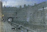 Famous Canal Paintings - Lincoln Canal