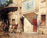 Alberto Pasini - Outside The Mosque