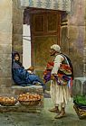 Alberto Rosati - The Orange Seller