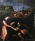 Alessandro Allori - St Peter Walking on the Water