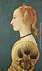 Yellow Wall Art - Portrait of a Lady in Yellow
