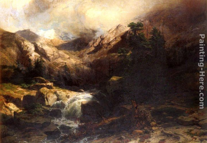 Alexandre calame a farm house on the side of a mountain for Farm house torrent