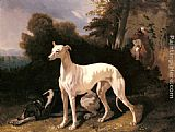 Alfred Dedreux - A Greyhound In An Extensive Landscape