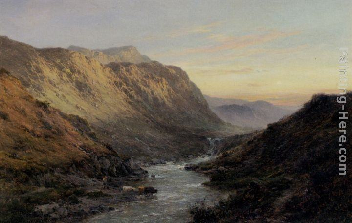Alfred Fontville De Breanski The Shiel Valley