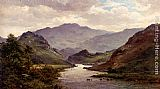 Alfred de Breanski Snr The River Colwyn, North Wales painting