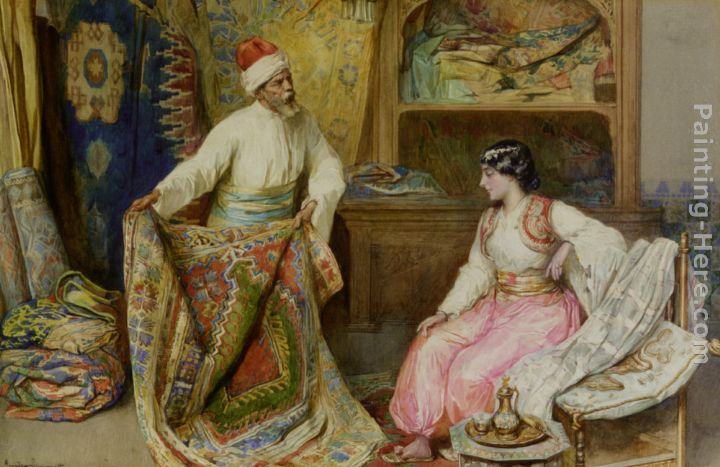 Amedeo Momo Simonetti The Carpet Merchant