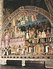 Andrea Bonaiuti da Firenze - Frescoes on the right wall