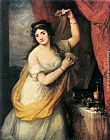 Angelica Kauffmann Portrait of a Woman painting