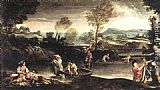Annibale Carracci - Fishing