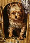 Anthony Frederick Sandys - Darby in his Basket Kennel