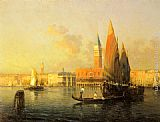 Antoine Bouvard - A View of Venice from Isola di S. Georgio
