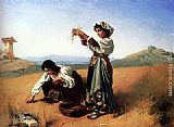 Anton Romako - The Gleaners
