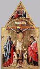 Antonio Da Firenze - Crucifixion with Mary and St John the Evangelist