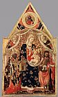 Antonio Da Firenze - Madonna and Child with Saints