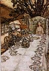 Arthur Rackham - Alice in Wonderland A Mad Tea Party