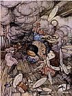 Arthur Rackham - Alice in Wonderland Pig and Pepper