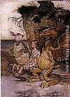 Arthur Rackham - Alice in Wonderland The Mock Turtle's Story
