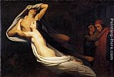Ary Scheffer - The Ghosts of Paolo and Francesca Appear to Dante and Virgil