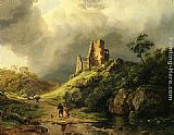 Barend Cornelis Koekkoek - The Approaching Storm