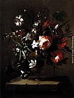 Bartolome Perez Vase of Flowers painting