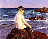 Benito Rebolledo Correa - At The Beach