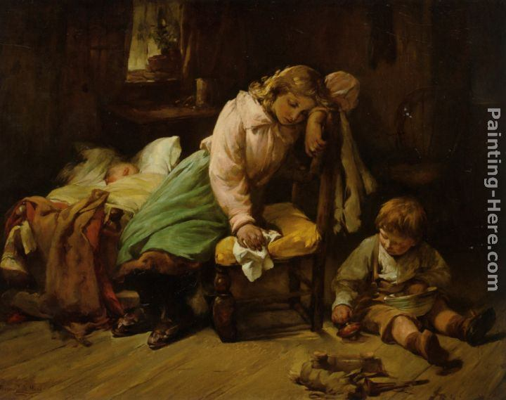 Bernard de Hoog The Young Mother