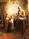 Bernard de Hoog - A Family in an Interior
