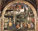 Bernardino Pinturicchio - Adoration of the Child