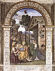 Bernardino Pinturicchio - Adoration of the Christ Child