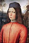 Bernardino Pinturicchio Portrait of a Boy painting
