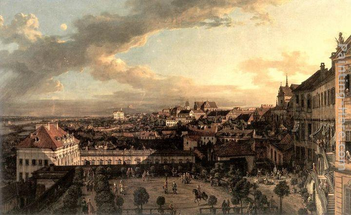 Bernardo Bellotto View of Warsaw from the Royal Palace