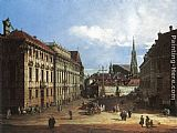 Bernardo Bellotto Vienna, the Lobkowitzplatz painting