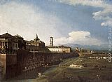 Bernardo Bellotto View of Turin near the Royal Palace painting