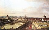 Bernardo Bellotto View of Vienna from the Belvedere painting