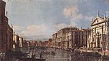 Bernardo Bellotto View of the Grand Canal at San Stae painting