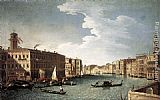 Bernardo Canal - The Grand Canal with the Fabbriche Nuove at Rialto