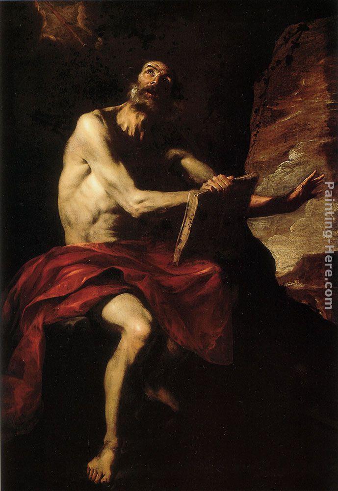 Bernardo Cavallino St Cecilia In Ecstasy Painting