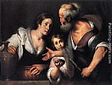 Bernardo Strozzi - Prophet Elijah and the Widow of Sarepta
