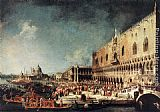 Canaletto - Arrival of the French Ambassador in Venice