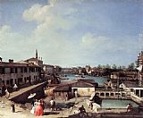 Canaletto - Dolo on the Brenta