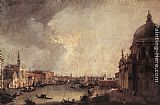 Canaletto - Entrance to the Grand Canal Looking East