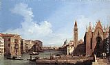 Canaletto - Grand Canal from Santa Maria della Carità to the Bacino di San Marco
