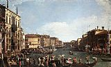Famous Canal Paintings - Regatta on the Grand Canal
