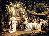 Carl Schweninger - The Garden Party