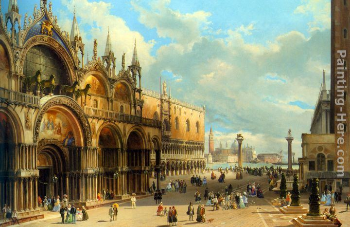 Carlo Grubacs St. Marks and the Doges Palace, Venice