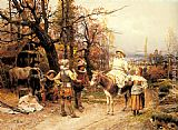 Cesare-Auguste Detti - A Halt along the Way