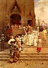 Cesare-Auguste Detti - The Confirmation Procession