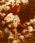 Charles Courtney Curran - Garden Walk