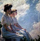 Charles Courtney Curran - On the Heights