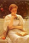 Charles Edward Perugini - In The Orangery